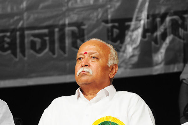 RSS Sangh does not avoid any political party anyone can join says Mohan Bhagwat