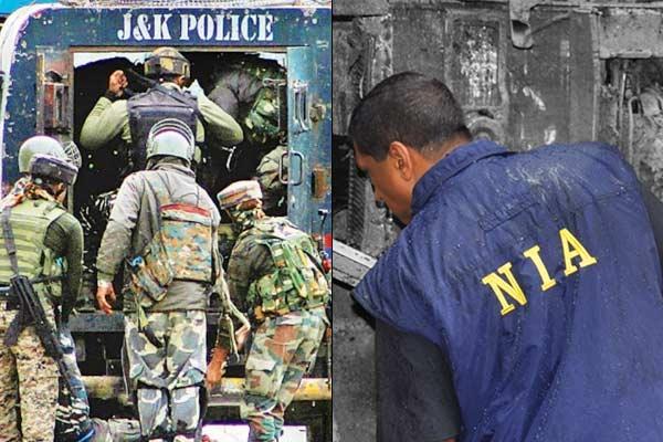 Jaish terrorist Zahid Sheikh  house raided by NIA, J&ampK Police