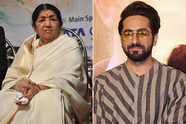 Lata Mangeshkar praised the film  Andhadhun