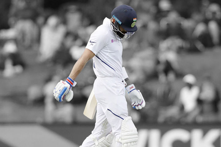 Trent Boult said  Our target was to keep pressure on Virat in which we succeeded