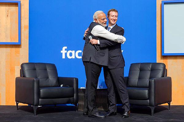 When Facebook chief Mark Zuckerberg changed his profile picture for PM Modi