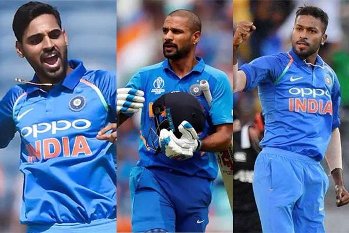 Team India selected for South Africa tour  Shikhar Bhuvi Hardik  return