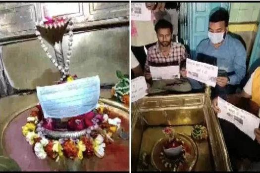 To spread Coronavirus awareness and Indian deities don masks