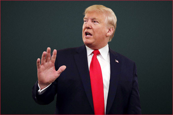 US President Donald Trump was asked why he has not been tested for coronavirus
