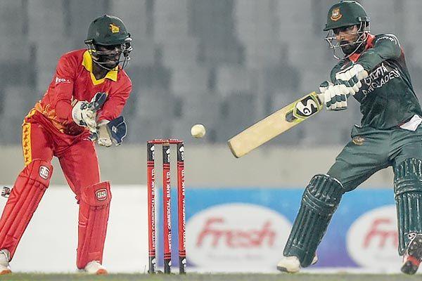 Bangladesh beat Zimbabwe by 9 wickets to win T20 series