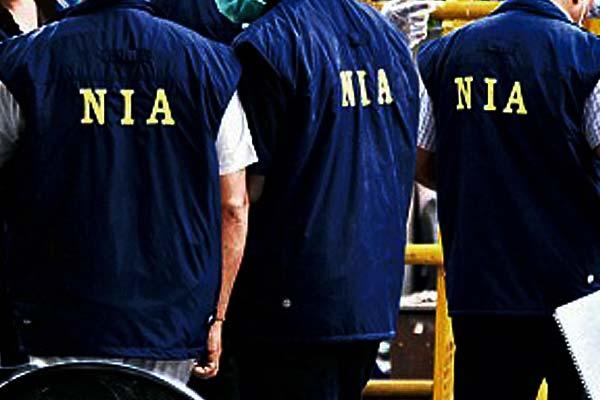 NIA raids at 10 places in Kashmir