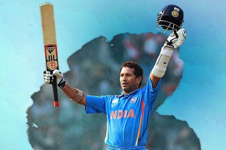 8 years ago, on this day  God of Cricket had scored a great century