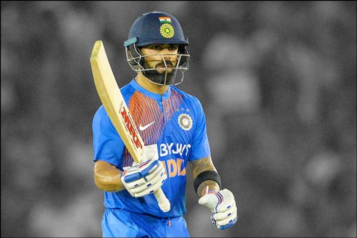 When Virat hit 18 fours and scored 183 runs Sachin played the last International ODI