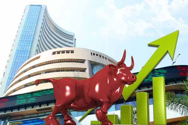 market closed with a bounce, the Sensex crossed 1,627 points and the Nifty crossed 8700