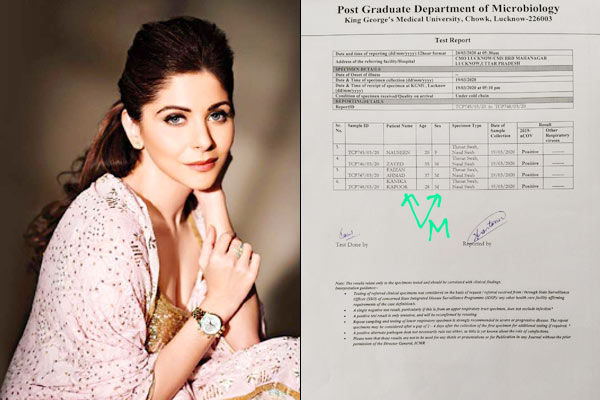 Coronavirus  Kanika Kapoor  gross negligence revealed, DM orders FIR