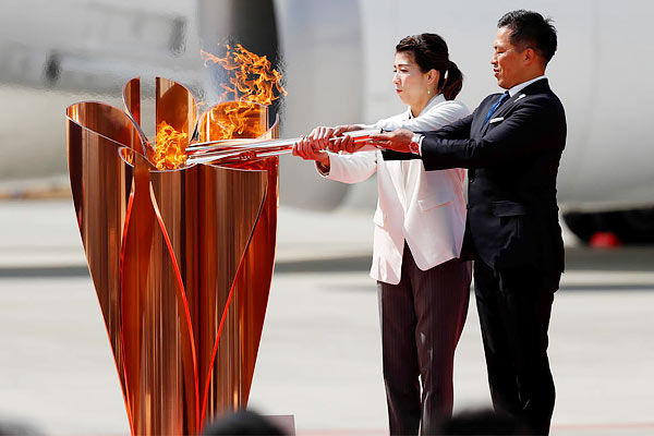 Olympic flame reaches Japan ahead of Tokyo 2020