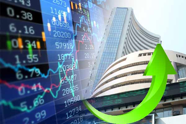 Stock market improves and Sensex opens 1450.71 points and Nifty up 373.35 points