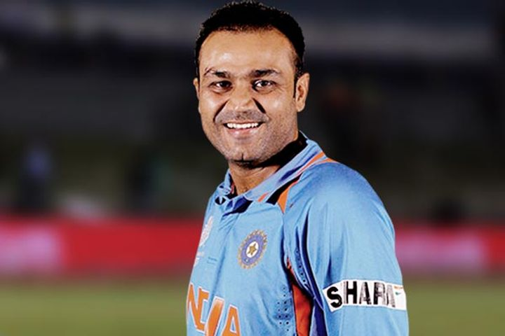 Virender Sehwag name is this unique record of cricket world
