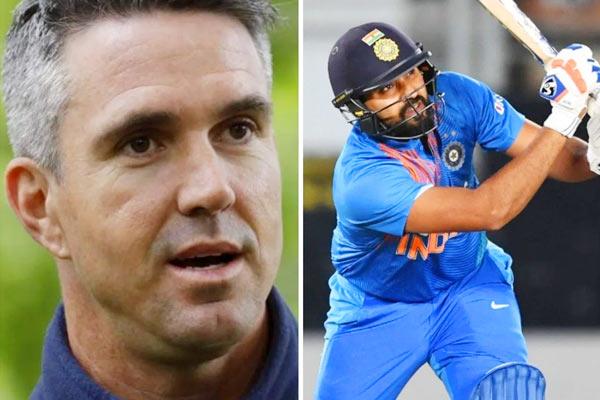 Kevin Pietersen interviews Rohit Sharma on social media