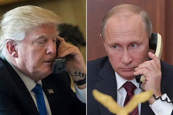 Trump Putin talk over phone US agrees to buy ventilators and medical supplies from Russia