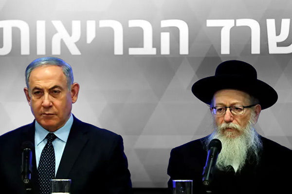 Israeli Health Minister Litzman his wife test positive for coronavirus