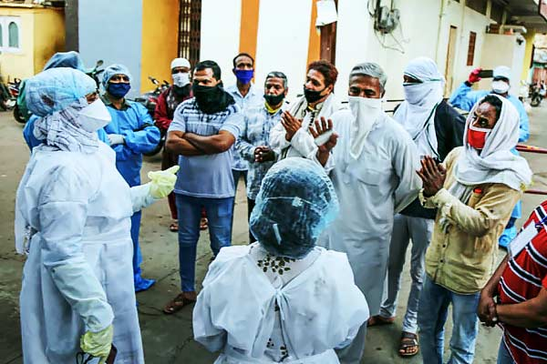 Indore doctors return to work after attack