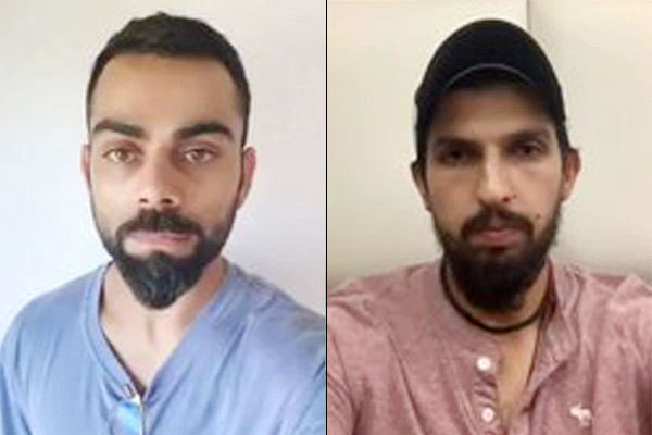 Virat and Ishant happy with relief work related to Corona praised Delhi Police