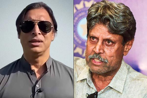 Do not think he understood what I was trying to says ,  Shoaib Akhtar on Kapil Dev We have enough mo