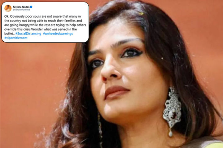 Raveena Tandon slams VIP entitlement of HD Kumaraswamy son for grand wedding amid coronavirus lockdo
