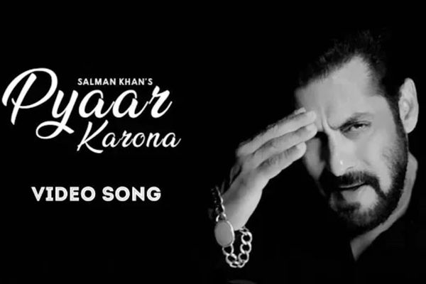 Salman Khan song Pyaar Karona released
