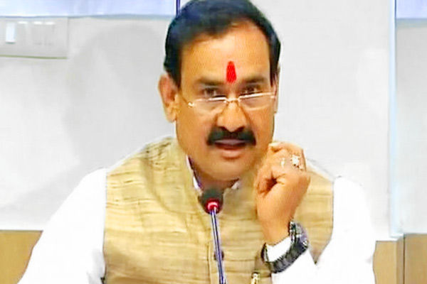 MP CM Shivraj Singh Chouhan appoints Narottam Mishra as Health Minister amid Coronavirus outbreak