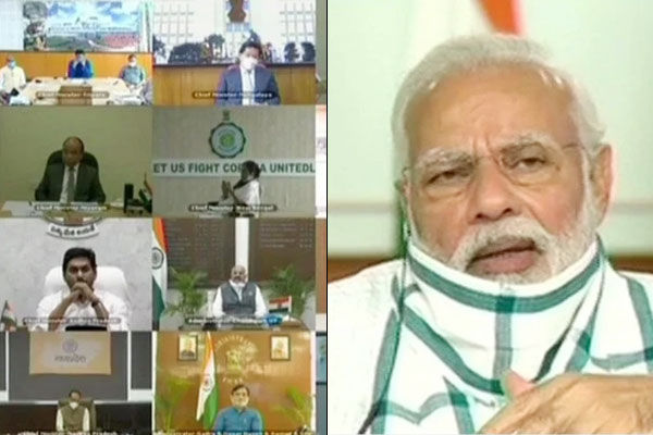 People with Covid-19 should not be seen as criminals says PM Modi during meet with CMs