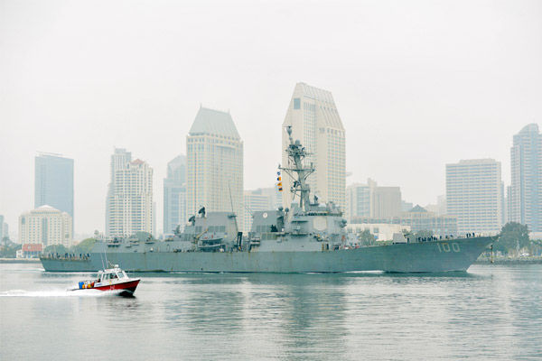 More sailors test positive for Covid-19 aboard US Navy destroyer