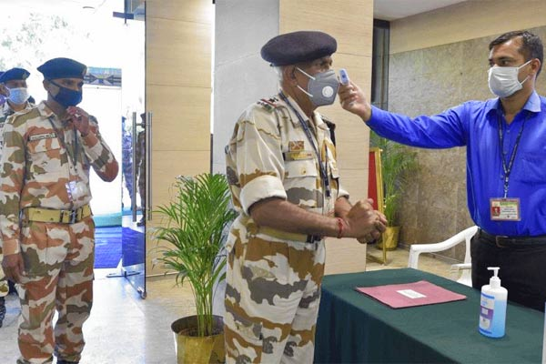 45 ITBP jawan corona positive in Delhi admitted