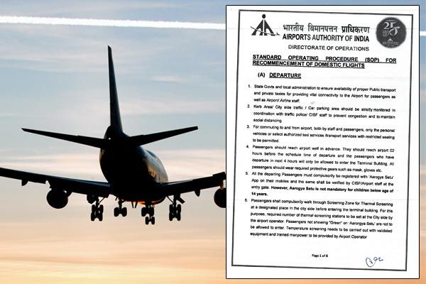 What is allowed at airports and what not after the latest SOPs