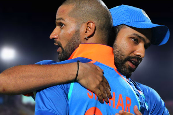 Rohit opened the secret  when the batsman was troubled by Gabbar's action on the field