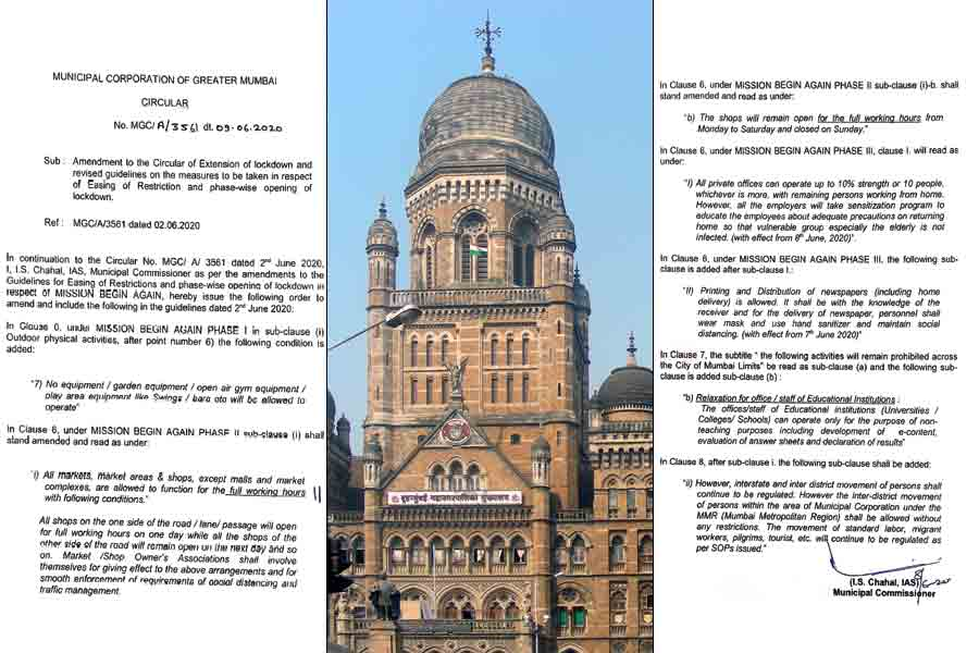 BMC issues new guidelines allows markets shops to function for full working hours in Mumbai