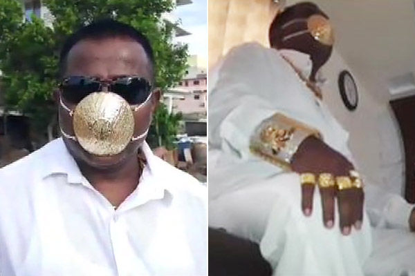 Pune man made gold mask for Rs 2.89 lakh, 365 new cases in Assam