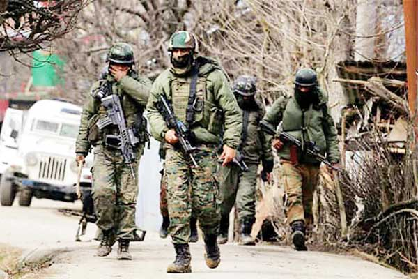 Encounter in security forces-terrorists continue 1 terrorist killed one soldier martyred