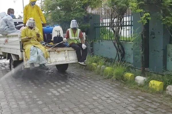 Covid19 Assam authorities begin door-to-door testing in Guwahati