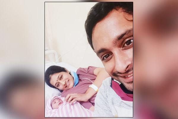 Ambati Rayudu and wife Vidya blessed with a baby girl
