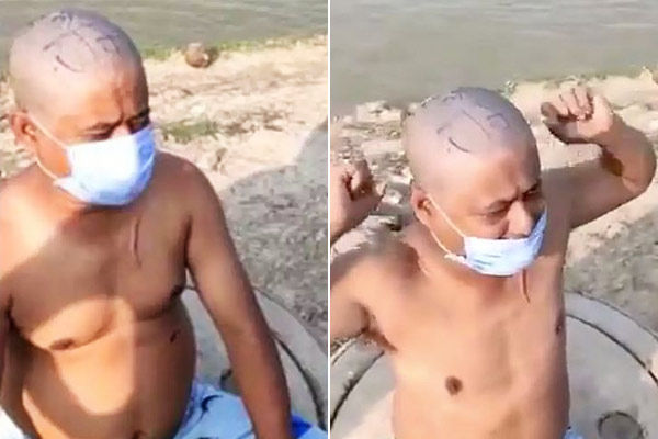 Nepalese tonsured in UP forced to chant Jai Shri Ram