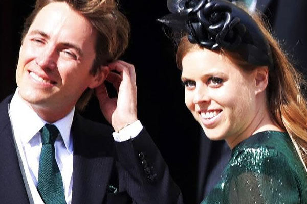 Queen Elizabeth IIs granddaughter Princess Beatrice married fiance Edoardo Mapelli Mozzi in a secret