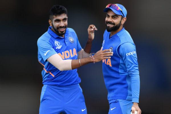 ICC ODI Rankings Virat Kohli Rohit Sharma continue to reign supreme Jasprit Bumrah maintains second