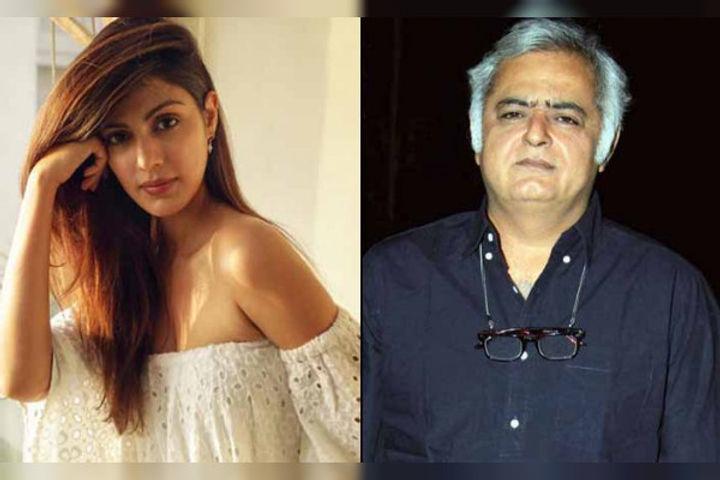 God forbid if she does harm to herself Hansal Mehta on Rhea Chakraborty
