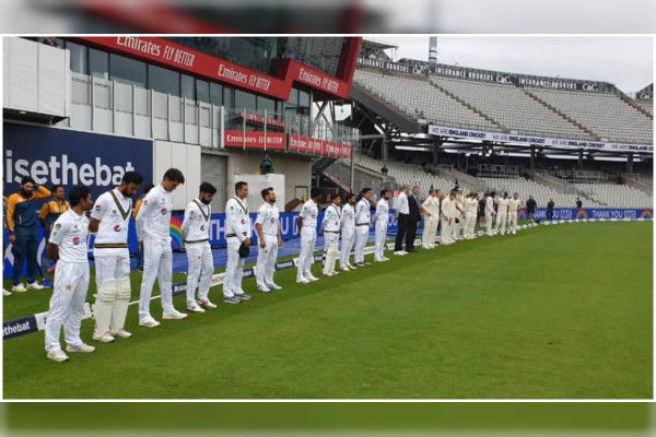England Pakistan observe one-minute silence for COVID-19 victims before start of first Test match