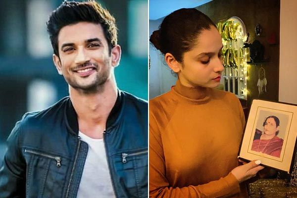 Believe you both are together Ankita Lokhande shares pic of holding Sushant Singh Rajput Mother phot
