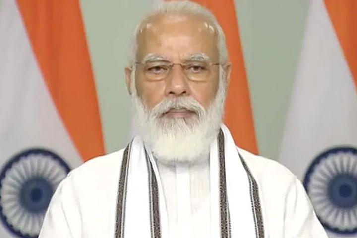 PM Narendra Modi inaugurates submarine optical fibre cable connecting Port Blair and Chennai