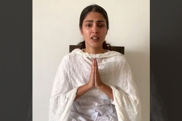 I am being victimized now Rhea Chakraborty alleges political vendetta
