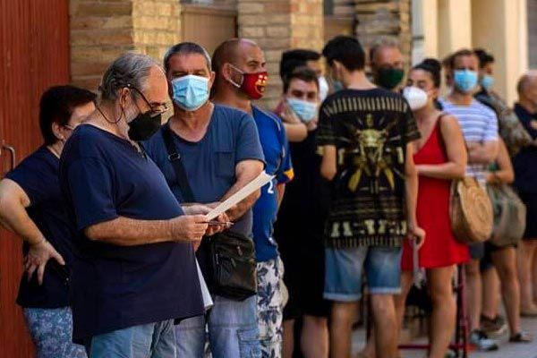 Increased infected cases in Spain capital Madrid urging people to stay home