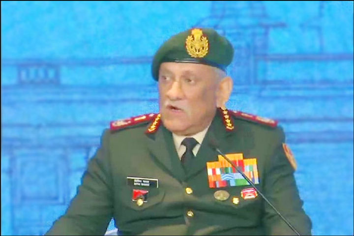 Military option will be exercised if talks are unfruitful CDS Bipin Rawat