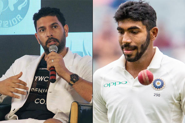 Yuvraj Singh wants Jasprit Bumrah to take at least 400 wickets in Test cricket