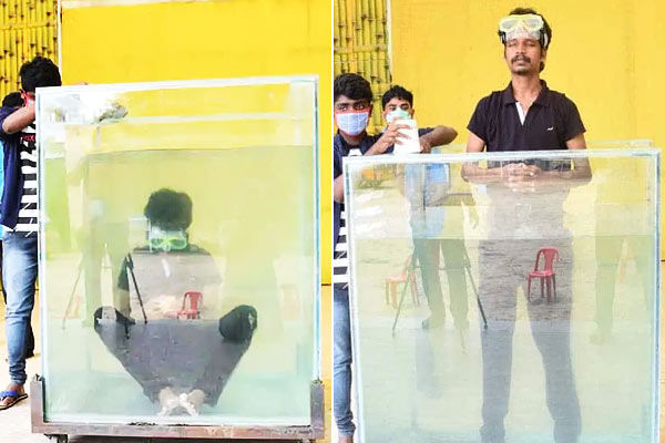 Guinness World Record 25-yr old Chennai man solves six Rubik&rsquos Cubes underwater in 2.17 minutes