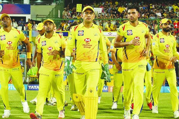 IPL 2020 Members of CSK contingent test positive for COVID-19
