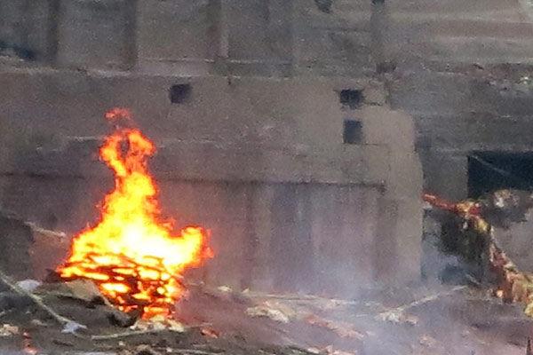 Cremation ghat